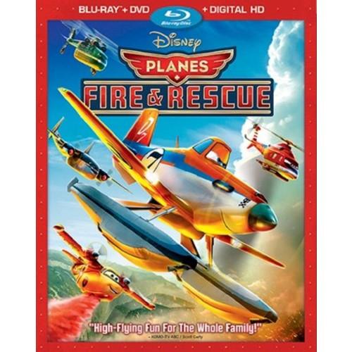 Planes Fire & Rescue (Blu-ray + DVD + Digital Copy)