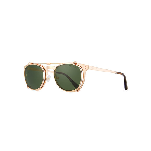 TOM FORD Special Edition Rose Gold-Plated Clip-On Sunglasses Box Set