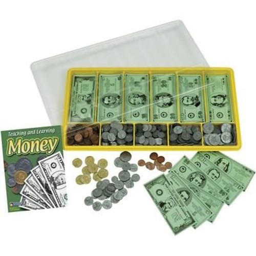 Learning Resources Giant Classroom Money Kit, Grades Kindergarten - 12th