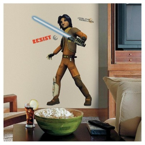 RoomMates 2.5 in. W x 27 in. H Star Wars Rebels Ezra 17-Piece Peel and Stick Giant Wall Decal