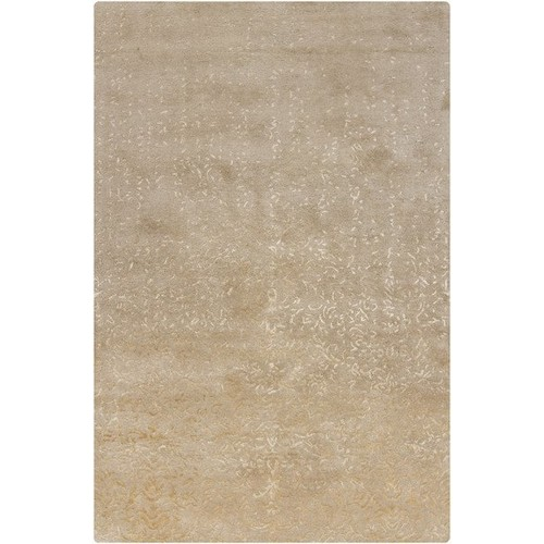 Rupec Collection Wool and Viscose Area Rug in Beige and Cream design by Chandra rugs - 5' x 7' 6\