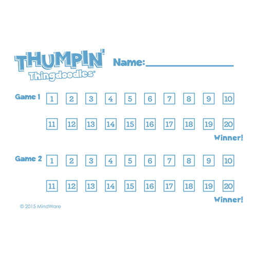 MindWare Thumpin' Thingdoodles Game