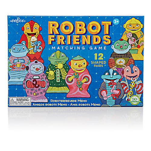 Robot Friends Matching Game