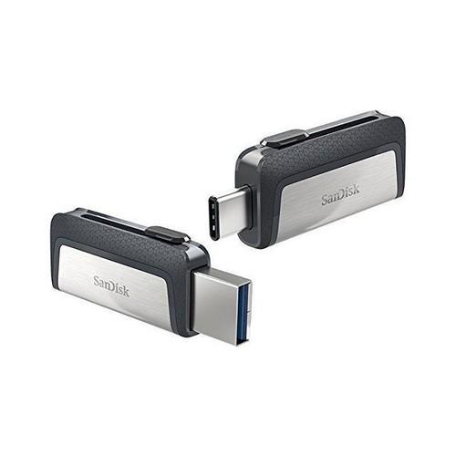 Sandisk Ultra Dual USB Type C 128GB USB3.1 Flash USB Drive SDDDC2 130MB/s
