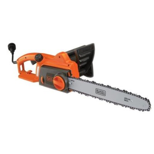 BLACK+DECKER 16 in. 12-Amp Corded Electric Chainsaw