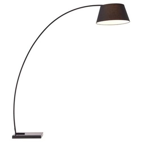 ZUO Vortex 74.8 in. Black Floor Lamp