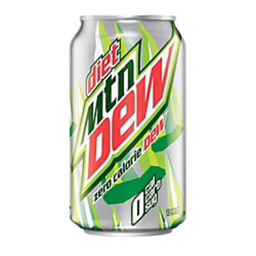 Diet Mountain Dew, 12 Oz., Pack Of 24