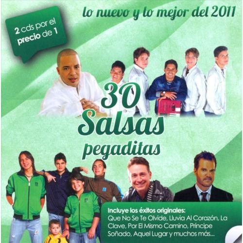 30 Salsas Pegaditas: Lo Nuevo Y Lo Mejor 2011 [CD]
