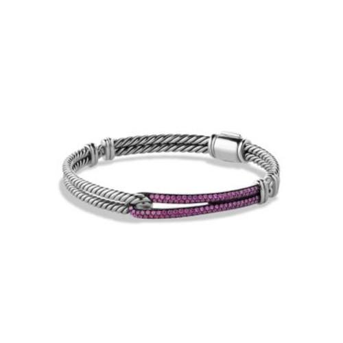Petite Pav Labyrinth Single-Loop Bracelet