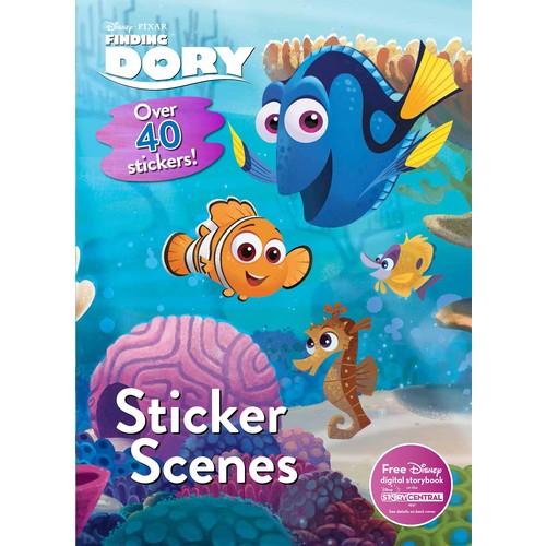 Finding Dory Sticker Scenes