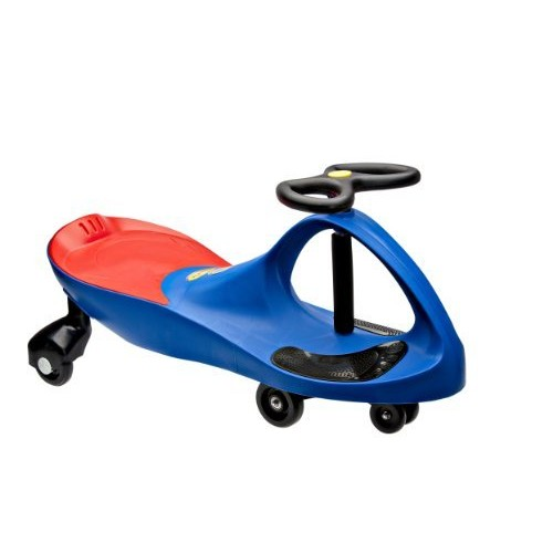 The Original PlasmaCar by PlaSmart  Blue  Ride On Toy, Ages 3 yrs and Up, No batteries, gears, or pedals, Twist, Turn, Wiggle for endless fun [Blue]