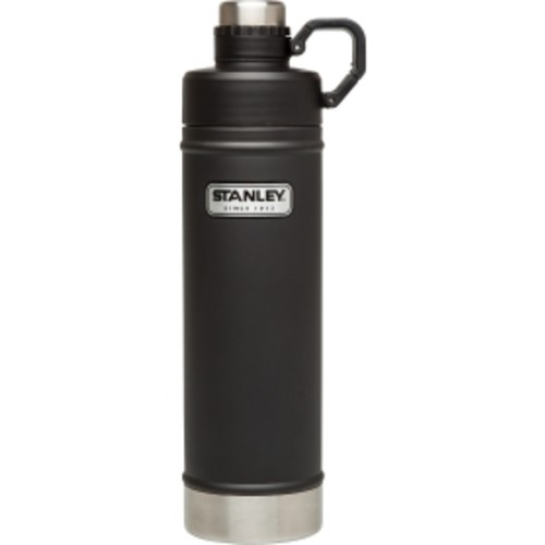 Classic Vacuum Water Bottle (25 fl oz, Matte Black)
