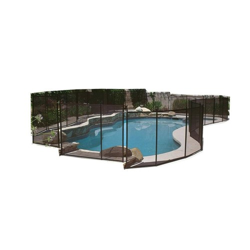 GLI Pool Products 5 ft. x 12 ft. Safety Fence for In Ground Pools