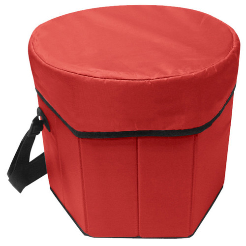 Outdoor picnic folding portable game cooler seat
