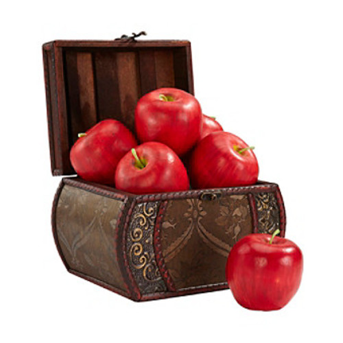 Nearly Natural 6-pc. Faux Apple Set