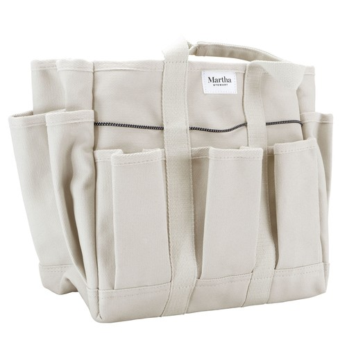 Martha Stewart Heavy Duty Canvas Garden Tote
