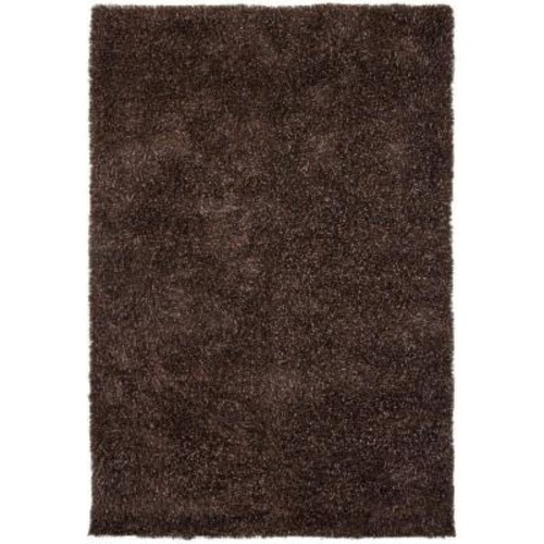 Chandra Barun Brown/Blue/Ivory 9 ft. x 13 ft. Indoor Area Rug