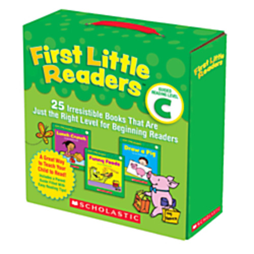 Scholastic First Little Readers Parent Pack: Guided Reading Level C