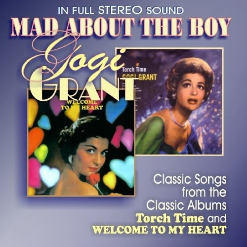 Mad About The Boy CD