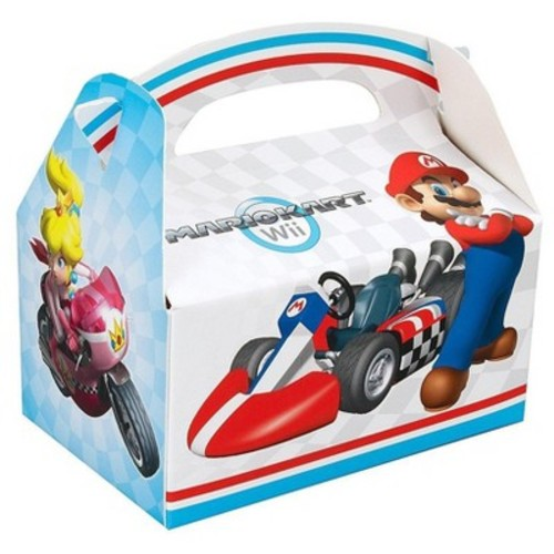 8 ct Mario Kart Wii Favor Boxes