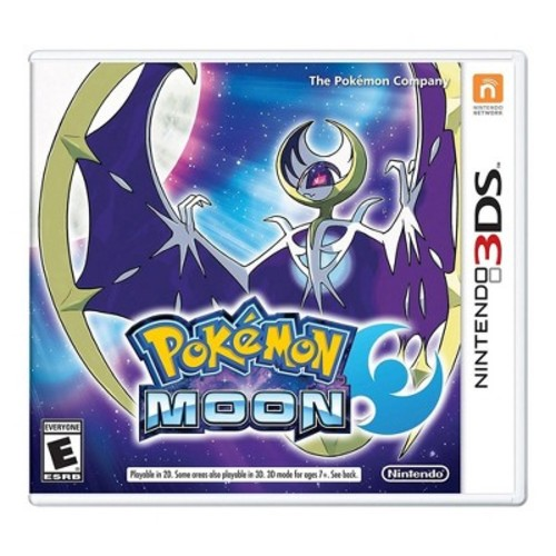Nintendo Pokemon Moon 3DS - Email Delivery