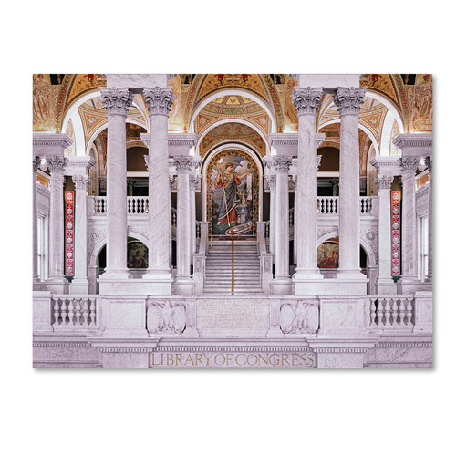 Trademark Global Gregory O'Hanlon 'Library of Congress' Canvas Art