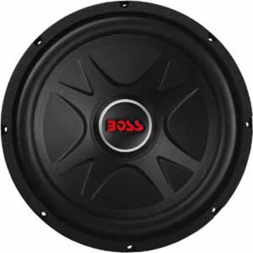 Boss 12 Single Voice Coil (4 Ohm) 1000W Subwoofer