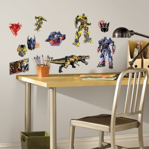 RoomMates Transformers: Age of Extinction Peel-and-Stick Wall Decals