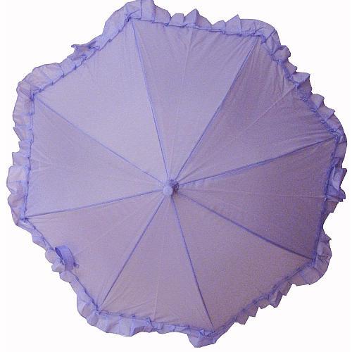 Ruffle Umbrella - Lilac