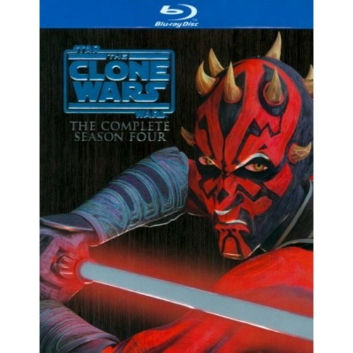 Star Wars: The Clone Wars - The Complete Season Four [3 Discs] [Blu-ray]
