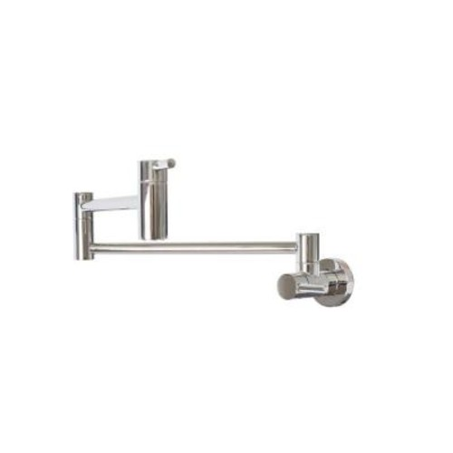 Belle Foret Wall-Mounted Potfiller in Chrome