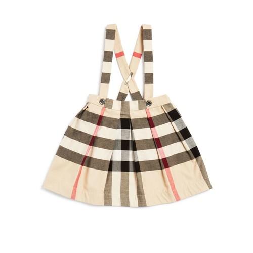 BURBERRY Girls' Sofia Signature Check Skirt - Baby