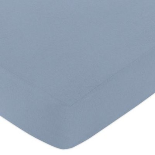 Sweet Jojo Designs Ocean Blue Fitted Crib Sheet in Blue