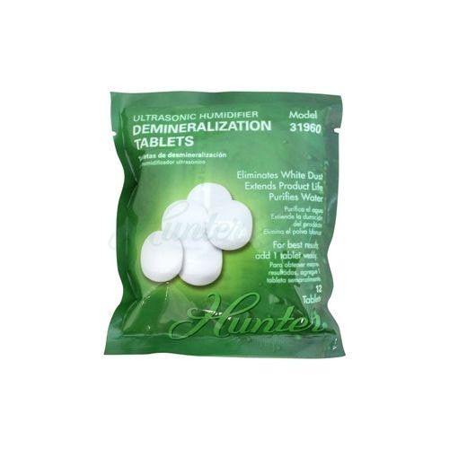 Hunter Home Comfort 31960 Demineralization Tablets for The Hunter Warm Ultrasonic Humidifier