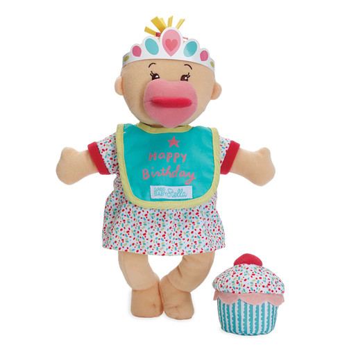 Wee Baby Stella Happy Birthday Deluxe Celessence Doll Set - Vanilla Scent