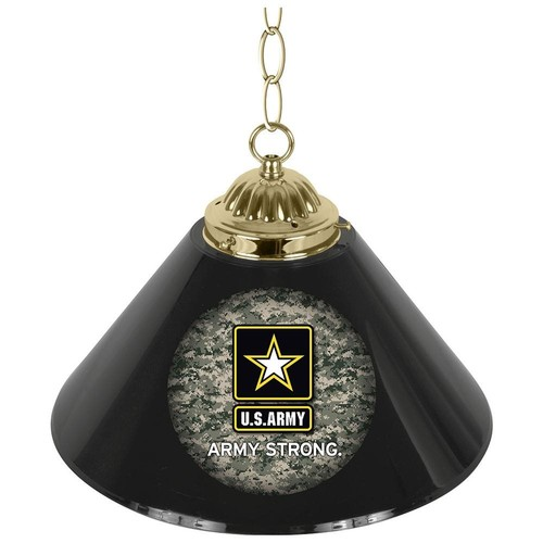 Trademark Global US Army Digital Camo Single Shade Bar Lamp