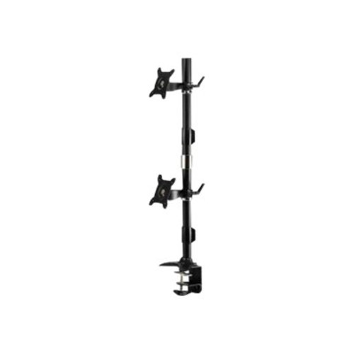 Amer AMR2CV Dual Vertical Monitor Mount Clamp - 24