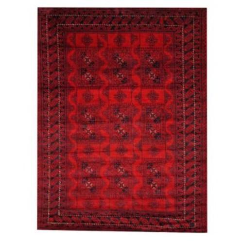 Herat Oriental Balouchi Red/Black Area Rug