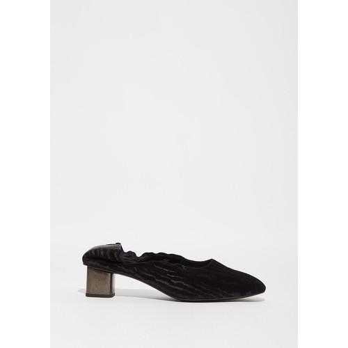 Pixie Velvet Heel