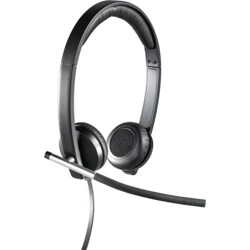 Logitech USB Headset Stereo H650e - headset - On-ear, Binaural