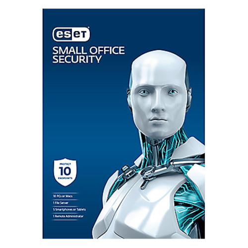 Small Office Security Pack - 10 Users 1 Year License, Download Version