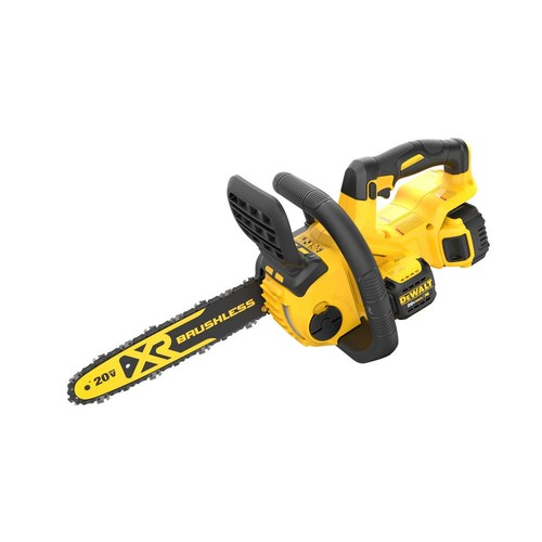 DEWALT 12 in. 20-Volt MAX XR Lithium-Ion Cordless Brushless Chainsaw with 5.0Ah Battery and Charger Included