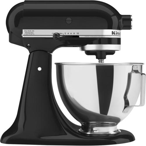 KitchenAid - Tilt-Head Stand Mixer - Onyx Black