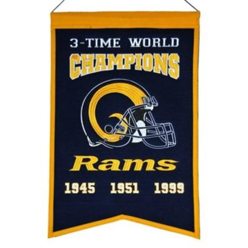 NFL Los Angeles Rams Super Bowl Championship Banner