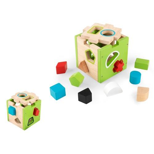 KidKraft Shape Sorting Cube Playset