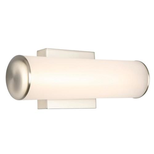Design House Burke 9-Watt Satin Nickel Integrated LED Bath Light