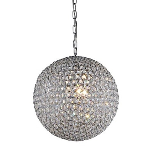 Warehouse Of Tiffany Pendant Ceiling Lights - Silver