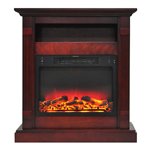 Cambridge Sienna Electric Fireplace With Enhanced Log Display, 34