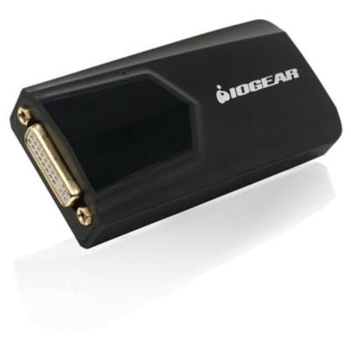 Iogear USB 3.0 to DVI External Video Card, Black