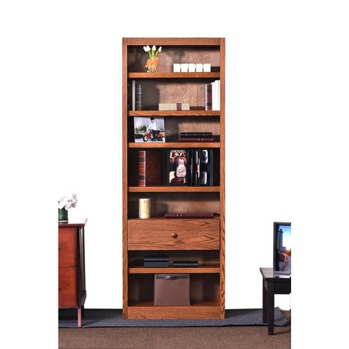 Concepts In Wood Dry Oak Open Bookcase